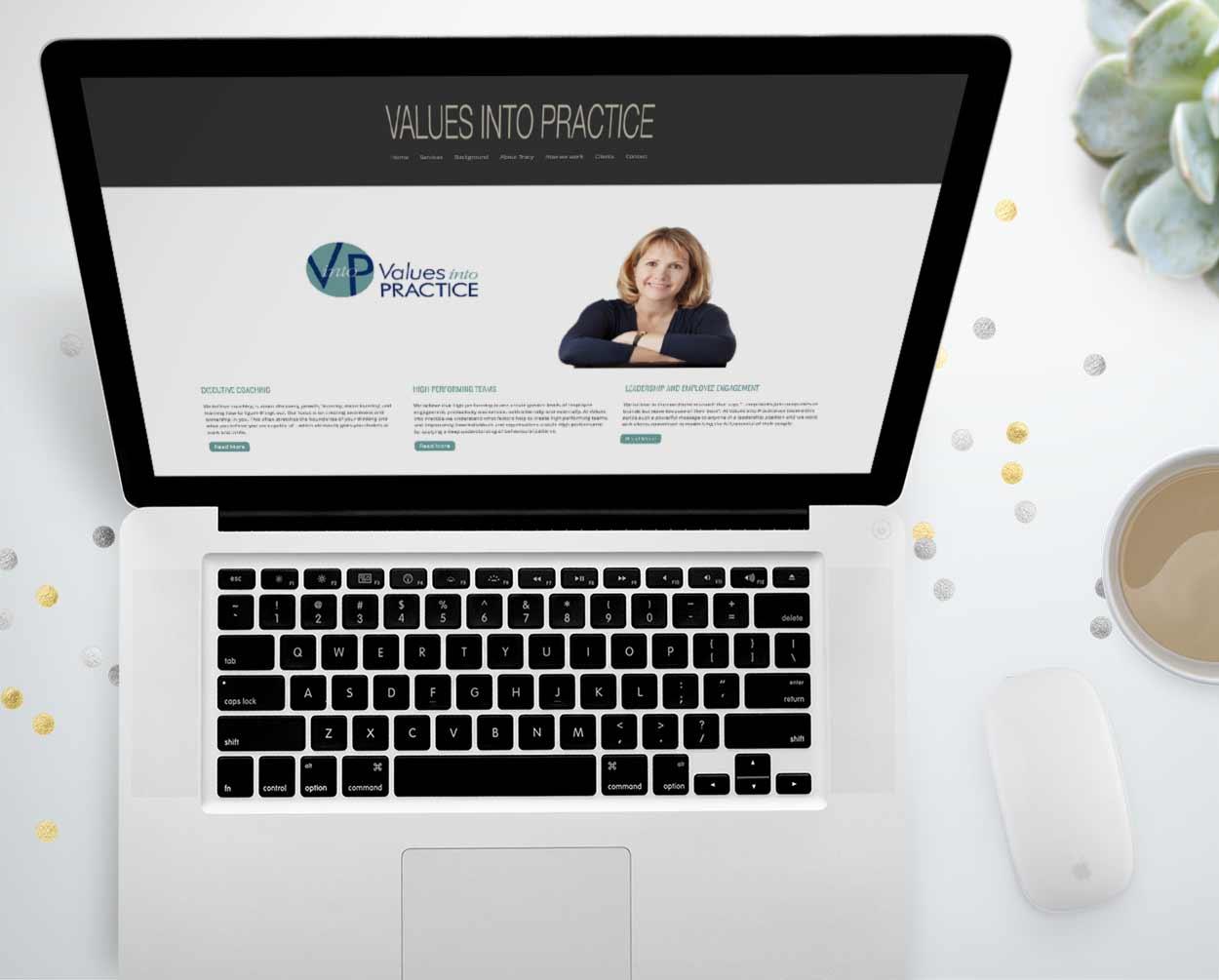 Website design for an Executive Coach