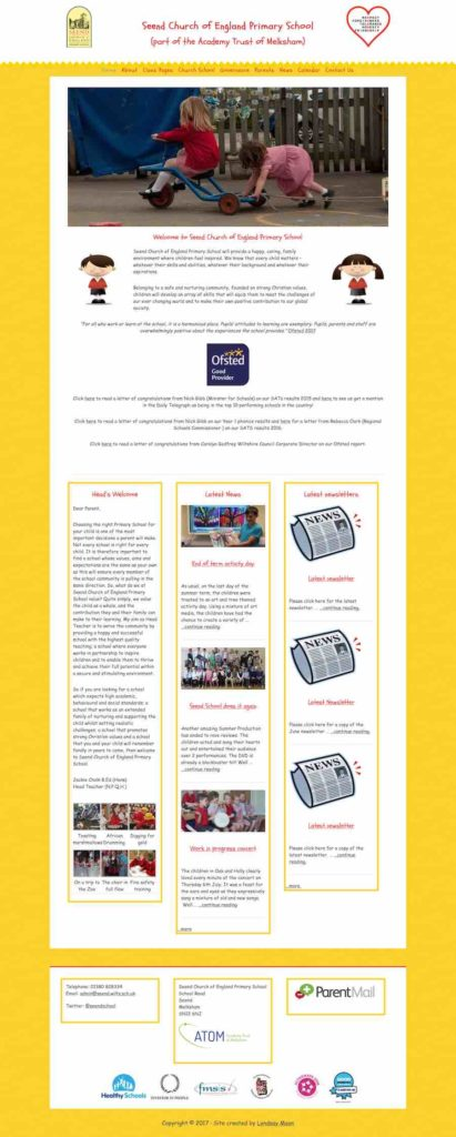 wordpress website design for schools