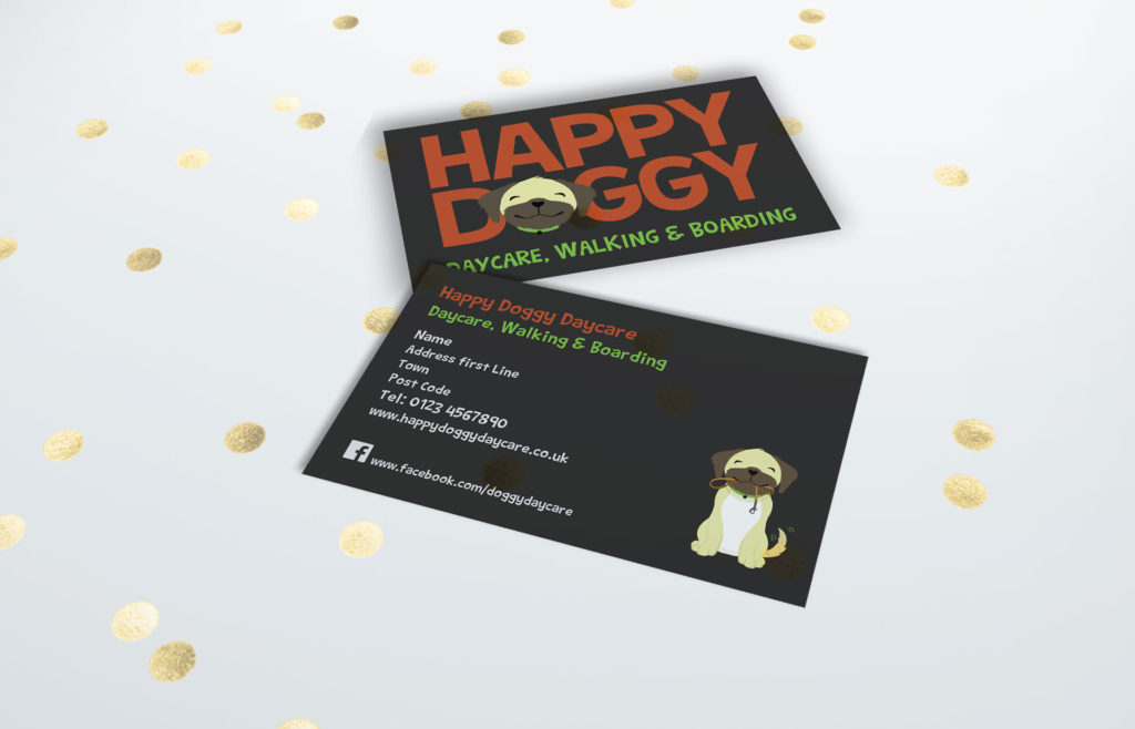 business card graphic design wiltshire