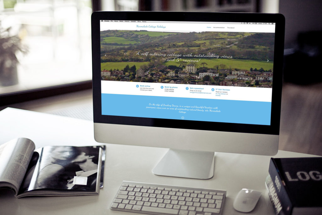 wordpress for a self catering cottage