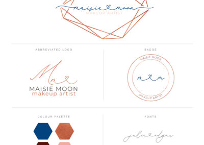 geometric logo design and branding